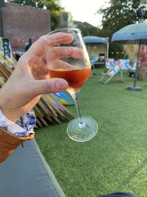 Lokal Stadtstrand Oldenburg gratis Champagner Tasting