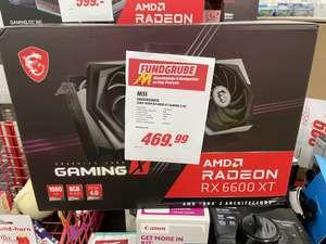 [Lokal Wuppertal Media Markt] MSI Radeon RX 6600 XT Gaming X 8G