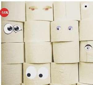 [dealclub] Für'n Ar**h: 120 Rollen Toilettenpapier, XXL Vorratspack, 3 lagig (oder 2 lagig ab 18,81€)