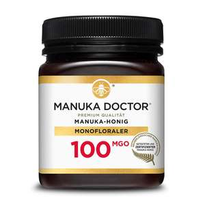 100 MGO Manuka-Honig 250g [7€ + 5€ Versand]