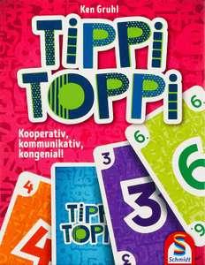 [KULTCLUB] Brettspiel/Kartenspiel/Gesellschaftsspiel Tippi Toppi (BGG 7.2, 1-4 Spieler ab 8) zum Bestpreis [mit 20%-GS 3,91€]