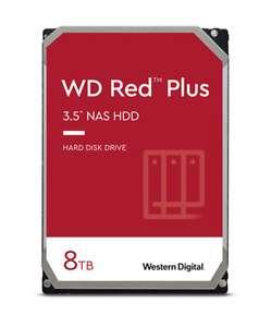 WD Red Plus WD80EFBX HDD - 8 TB 7200 rpm 256 MB 3,5 Zoll SATA 6 Gbit/s