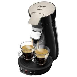 (Rewe Online) Philips Senseo Kaffeepadmaschine Eco Viva Café HD6562/35 Schwarz 1450W