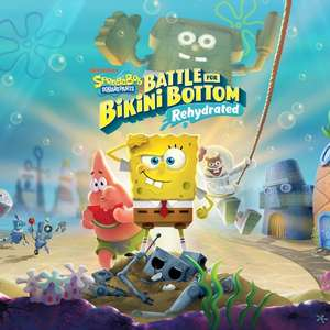 SpongeBob SquarePants: Battle for Bikini Bottom - Rehydrated (Switch) für 15,01€ (eShop RU)