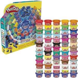Hasbro Play Doh Knete - Farbenset, 65-Jahre Vielfalt Pack, 65 Dosen [Thalia KultClub]