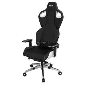 RECARO Gaming-Stuhl Exo Platinum (Ergonomische Sitzschale, Integrierte Lordosenstütze, Gepolsterte 5D-Armlehnen, Stufenlose Einstellung)