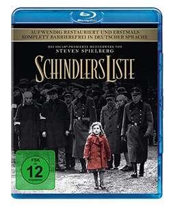 Schindlers Liste (Remastered Blu-ray) für 8,36€ (Amazon Prime & Media Markt)