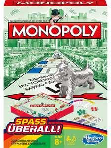 4 Stück Monopoly - Kompakt Brettspiel