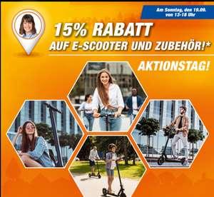 [Regional Expert Flensburg-Nur Sonntag] 15% Rabatt auf alle E-Scooter und Zubehör.Zb.. XIAOMI Mi Electric Scooter 1S Schwarz für 339,15€