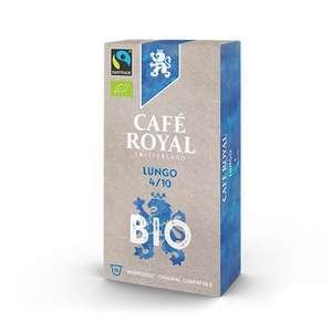 (Sparabo - u.U. personalisiert) Café Royal 100x Bio-Lungo Nespresso Classic Kaffee Kapseln