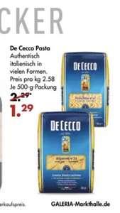 De Cecco Pasta für 1,29 Euro verschiedene Sorten Nudeln Karstadt Kaufhof Galeria Markthalle