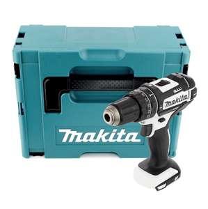 Makita DHP 482 ZJW Akku Schlagbohrschrauber 18V 62Nm im Makpac 2 (ohne Akku und Ladegerät) mit Bosch Bitset für 85,16€ [Contorion]