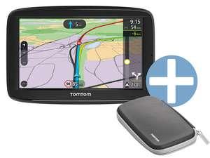 TomTom EU-Navigationsgerät VIA 62 (6 Zoll, Freisprechfunktion, Mit Etui)