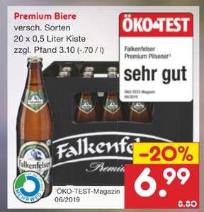 Netto MD Falkenfelser Biere verschiedene Sorten auch Radler evtl lokal BaWü