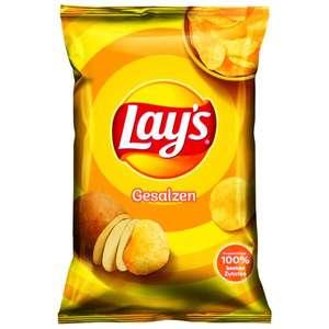 Jawoll Sonderposten: Lays Chips , verschiedene Sorten im 175g Beutel , 100g Preis: 39Cent
