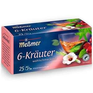 Netto MD: Meßmer Tee in verschiedenen Sorten, je nach Sorte bis zu 25 Teebeutel, 37,5-75g,