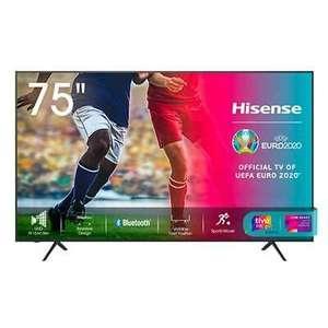 Hisense 75A7120F Fernseher 189,5 cm (74.6 Zoll) 4K Ultra HD Smart-TV WLAN Schwarz
