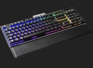 EVGA Z15 mechanisch Tastatur Kaihua Kailh Silver Speed schwarz