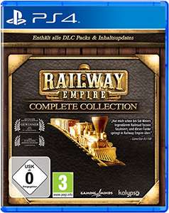 Railway Empire Complete Collection (PS4 & Xbox One) für je 15,24€ (Amazon Prime & Media Markt Abholung Club)