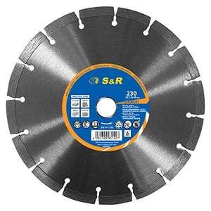 (Amazon Prime)S&R Diamanttrennscheibe 230mm für Beton/Pflastersteine