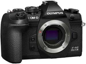 Olympus OM-D E-M1 Mark III MFT Systemkamera - Vorbestellung