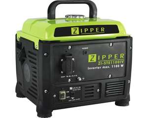 Zipper Inverter Stromerzeuger ZI-STE1100IV1100 W, 1x 230V für 134,10 Euro [ Hornbach TPG ]