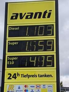 Diesel 1,10 (Lokal Forchheim)
