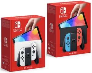 Wieder bestellbar: Nintendo Switch OLED für 351,62€ inkl. Versandkosten