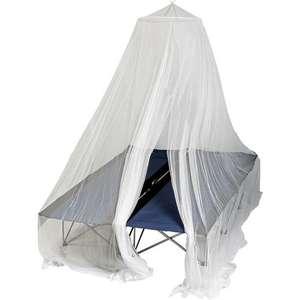 Brunner Pop-Up Moskitonetz Double, Camping-Moskitonetz mit faltbarem Distanzring, Umfang 1500 cm, für 2 Personen [Campz]