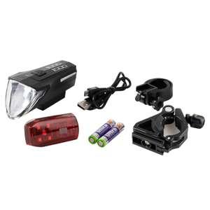 Fahrradbeleuchtung BIKEMATE® Premium-LED-Lampenset (ALDI)