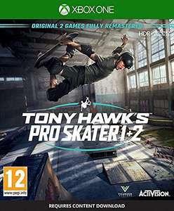 Tony Hawk's Pro Skater 1 + 2 (Xbox One) für 20,81€ (Amazon IT)