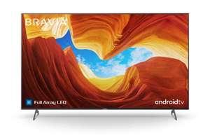 Sony KD55XH9299B Full Array LED TV (55 Zoll (139 cm), 4K UHD, Smart TV, Twin Triple Tuner, HDR, USB-Aufnahme, Sprachsteuerung, EEK G)