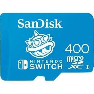 (MM CLUB) SanDisk microSDXC Speicherkarte für Nintendo Switch 400 GB, Blau