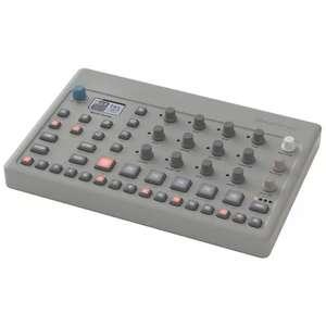 Elektron Model:Cycles, kompakte 6-Spur Groovebox mit FM-Synthese und Sequenzer, inkl. Netzteil, zwei MIDI-Adapter [Musicstore]