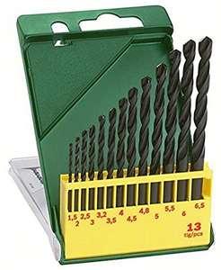 Bosch 13tlg. Metallbohrer-Set HSS-R rollgewalzt 1,5 bis 6,5 (Prime)