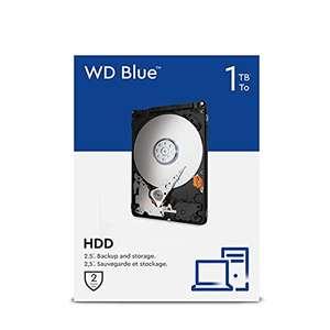 """Prime: Western Digital WD Blue 1TB, 2,5"""", 5400U/min, SATA 6Gb/s (WD10EZEX)"""