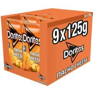 [Sparabo] verschiedene Sorten Doritos (9*125g) oder Lay's (9*175g) für 5,99 € möglich (67 ct. pro)