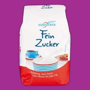 Südzucker Feinzucker 1-kg für 0,55€ ab Mo. 27.09.21 [NORMA]