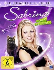 Sabrina - Total verhext! Gesamtbox Staffel 1-7 (DVD) für 69,97€ (Amazon)