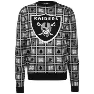 MAJESTIC NFL Oakland Raiders Big Logo Sweatshirt Herren (Gr. M - XXL)