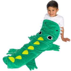 [ACTION] Kinder Kuscheldecke 120x40cm Krokodil, Hai, Meerjungfrau oder Hase für 5,49€