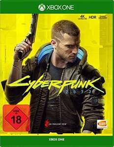 Cyberpunk 2077 Day One Edition (Xbox One) für 24,99€ (Amazon)