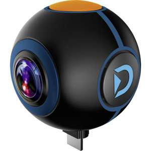 Discovery Adventures 720° Android Action Camera Spy