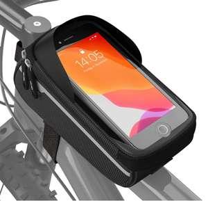 Velima Fahrrad Rahmentasche Wasserdicht ( Klettverschlusses, bis zu 6,4 Zoll )