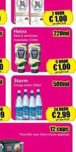 Storm Stilles Wasser mit Koffein(effektiv 3,01€ Gewinn pro 24er Pack) Lokal NL