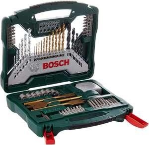 Bosch X-Line 70tlg. Titanium-Bohrer & Bit-Set (für Holz, Stein und Metal) [Prime oder Abholstation]