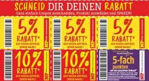 [NP DISCOUNT] 5% und 10% Rabatt-Coupons für je einen Artikel nach Wahl