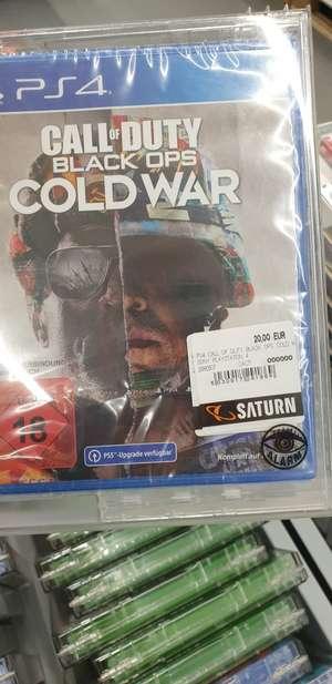 [Lokal Saturn Bremen Duckwitzstraße] Ps4 Call of Duty Cold War und jede Menge anderer games