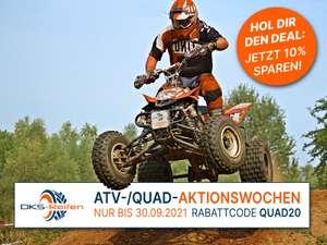 10% Rabatt auf alle Quad-/ATV-Reifen