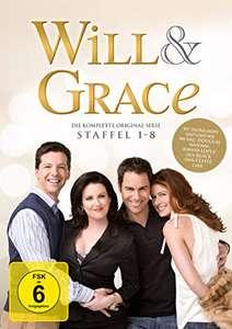 Will & Grace - Die komplette Serie (Neuauflage 32 DVDs + Bonus-DVD) für 36,97€ (Amazon)